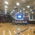 Blue Valley performing their hip hop routine.