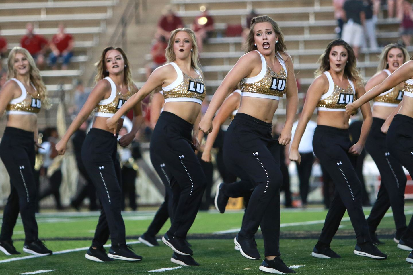 The Lindenwood Lion Line will be teaching a hip hop combo in the style that has won numerous national championships!
